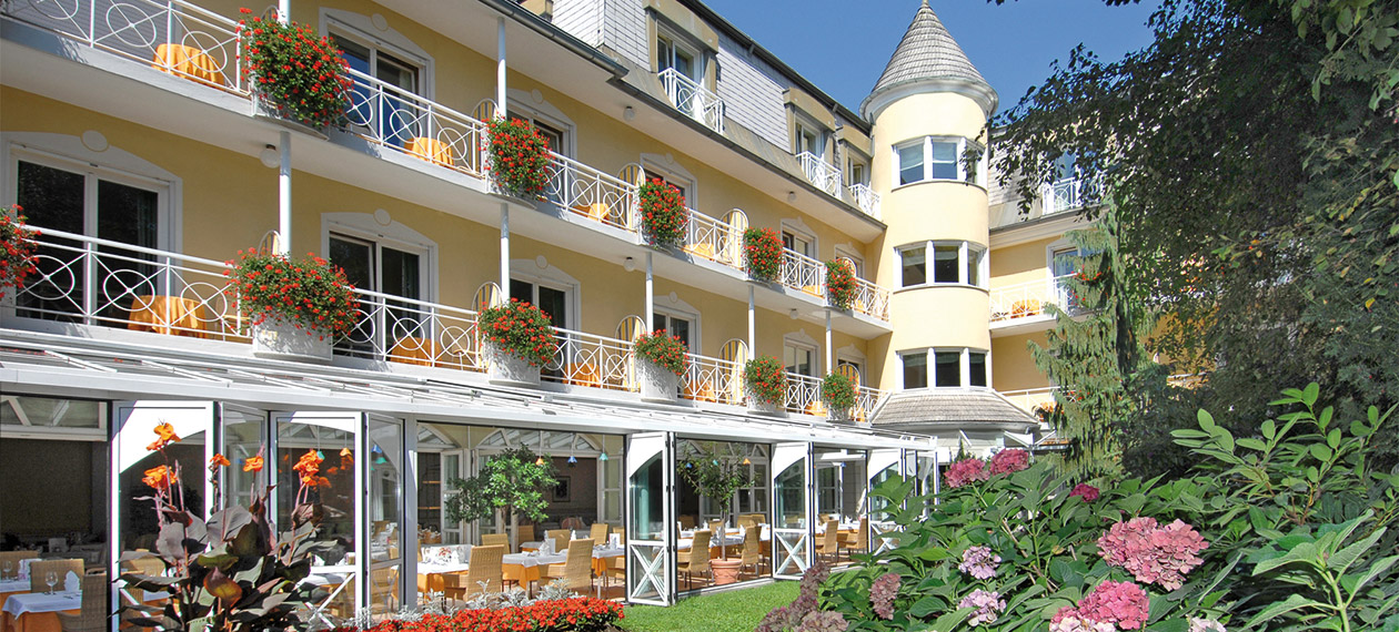 Hotel Dermuth in Pörtschach am Wörthersee in Kärnten DERMUTH HOTELS