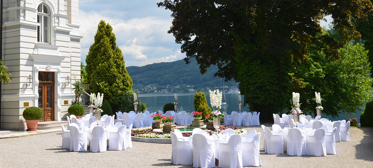 Weddings & Celebrations in DERMUTH HOTELS in Pörtschach at lake Wörthersee - Carinthia