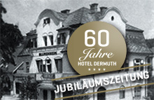 60 years HOTEL DERMUTH