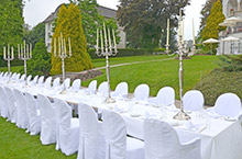 Festive ambience for your wedding